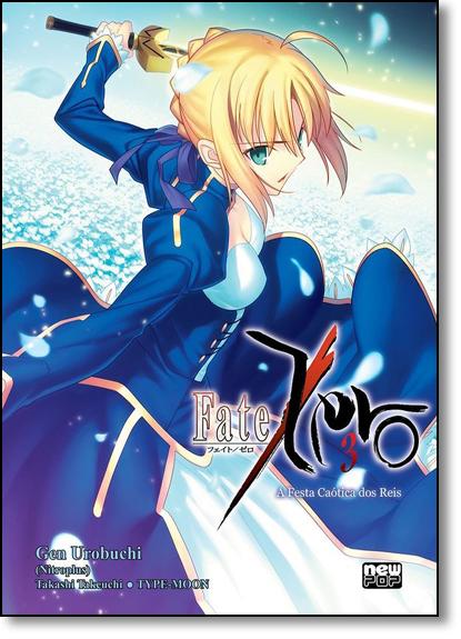 Fate/Zero - Vol.3, livro de Gen Urobuchi