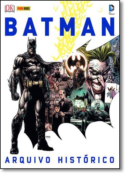 Batman: Arquivo Histórico, livro de Editora Panini