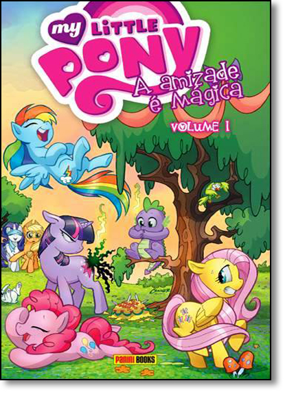 My Little Pony: A Amizade É Mágica - Vol.1, livro de Editora Panini