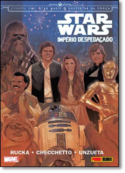 Star Wars: Império Despedaçado, livro de Greg Rucka