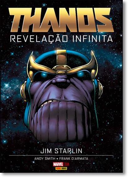 Thanos: Revelação Infinita, livro de Jim Starlin