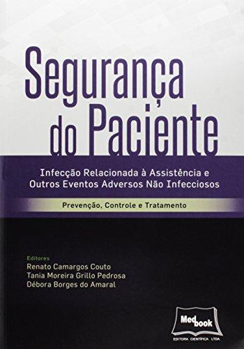 Segurança do Paciente, livro de Renato Camargos Couto