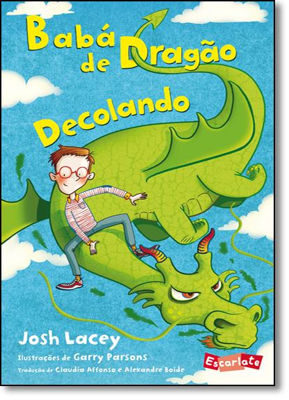Babá de Dragão: Decolando, livro de Josh Lacey