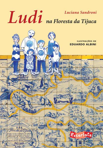 Ludi na floresta da Tijuca, livro de Luciana Sandroni