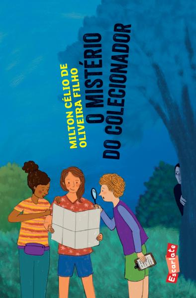 O mistério do colecionador, livro de Milton Célio de Oliveira Filho