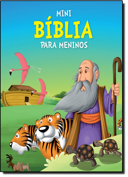 Mini Bíblia Para Meninos, livro de Vale das Letras