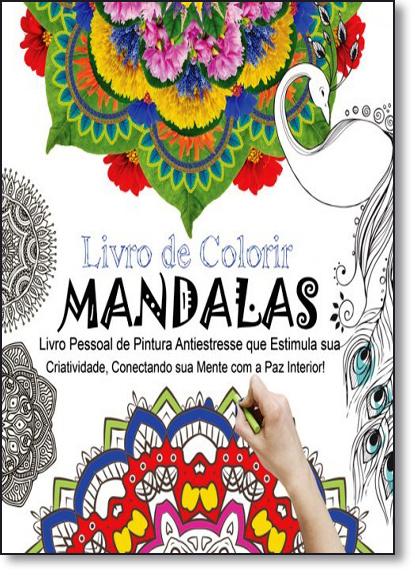 Livro de Colorir Mandalas - Vol.1, livro de Marco Antonio dos Inocentes