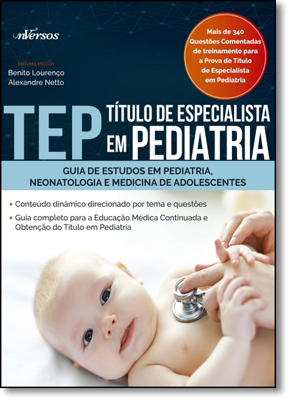 Tep - Título de Especialista em Pediatria, livro de Benito Lourenço