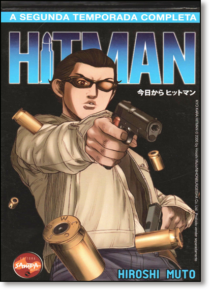 Box Hitman: Segunda Temporada - 3 Volumes, livro de Hiroshi Muto