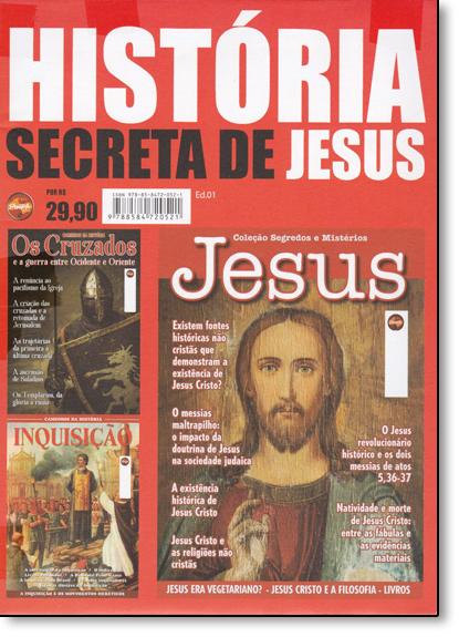 Box: História Secreta de Jesus, livro de Vários Autores