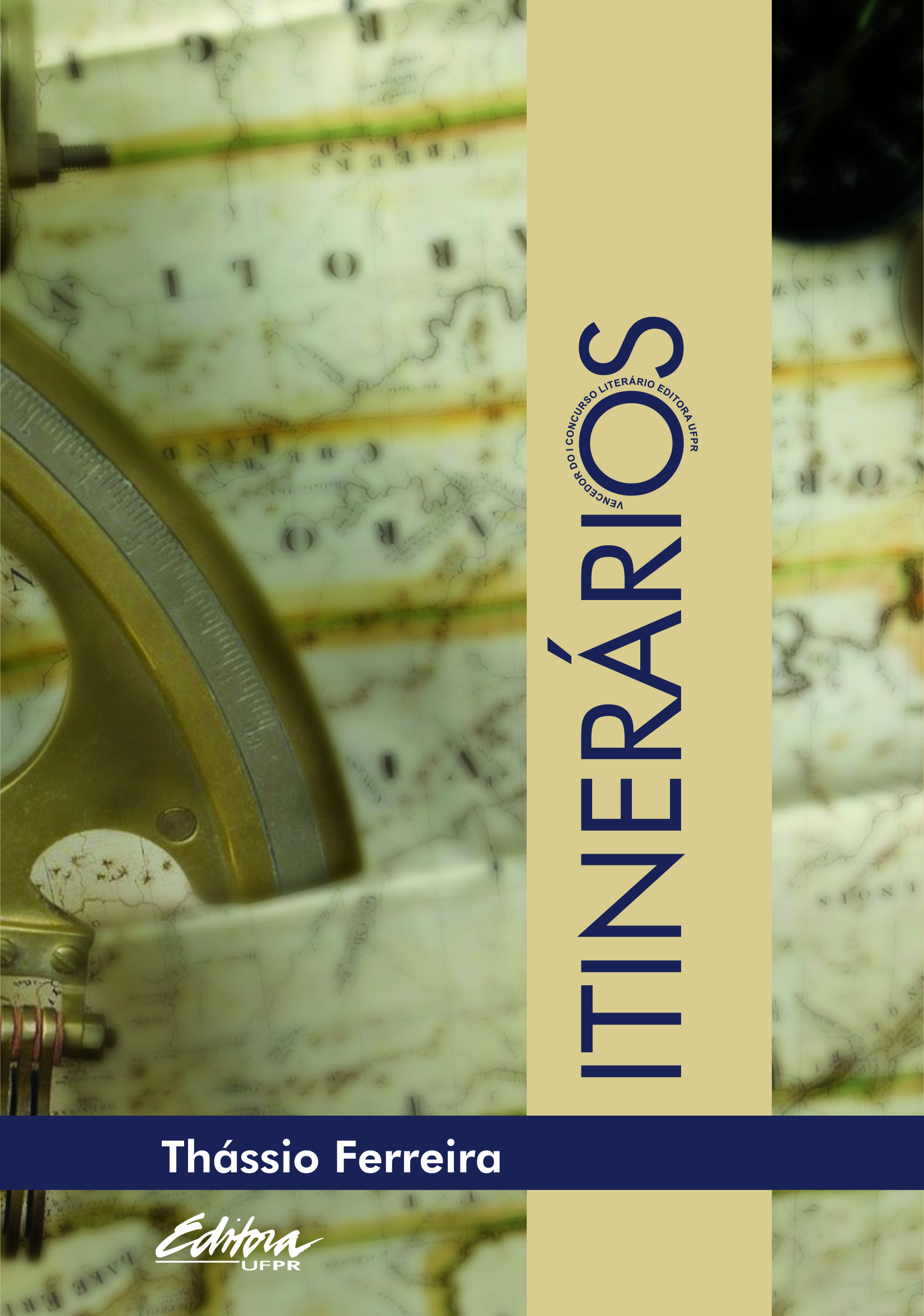 Itinerários, livro de Thássio Ferreira