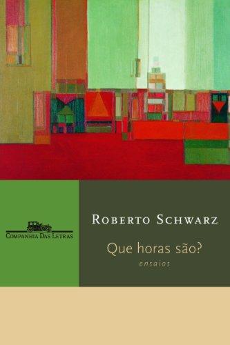 Que horas são?, livro de Roberto Schwarz