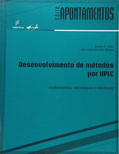 Desenvolvimento De Metodos Por Hplc, livro de Quezia B.;Degani, Ana Luiza Gusmao Cass