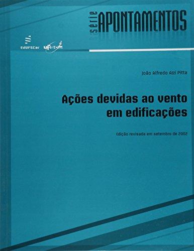 Acoes Devidas Ao Vento Em Edificacoes, livro de Joao Alfredo Azzi Pitta