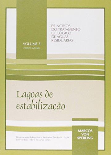 LAGOAS DE ESTABILIZACAO VOL. 3 - 2 ED., livro de VON SPERLING, MARCOS