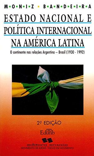ESTADO NACIONAL E POLITICA INTERNACIONAL NA AMERICA LATINA, livro de GUIRAUD