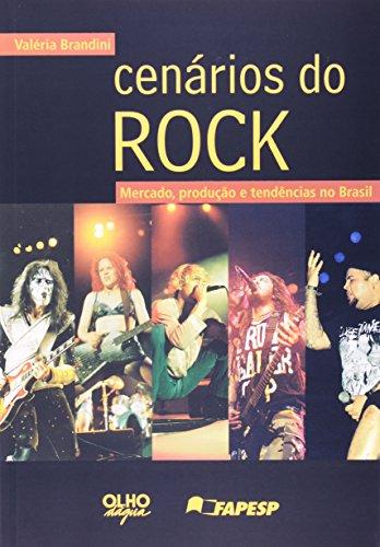 Cenarios Do Rock, livro de Valeria Brandini