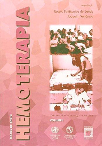 Textos de Apoio em Hemoterapia - vol. 1, livro de EPSJV (org.)