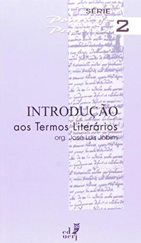 Introdução Aos Termos Literários, livro de Jose Luis Jobim