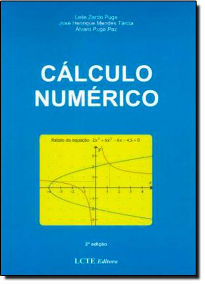 Calculo Numérico, livro de Leila Zardo Puga