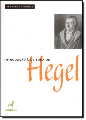 Introducao A Leitura De Hegel, livro de