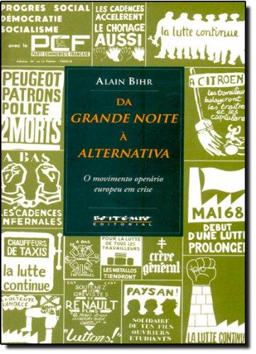 Da grande noite à alternativa, livro de Alain Bihr