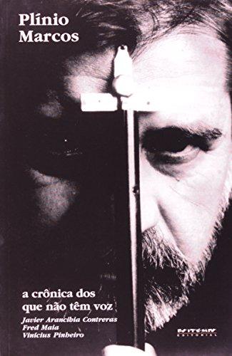 Plínio Marcos, livro de Javier Arancibia Contreras, Vinícius Pinheiro e Fred Maia