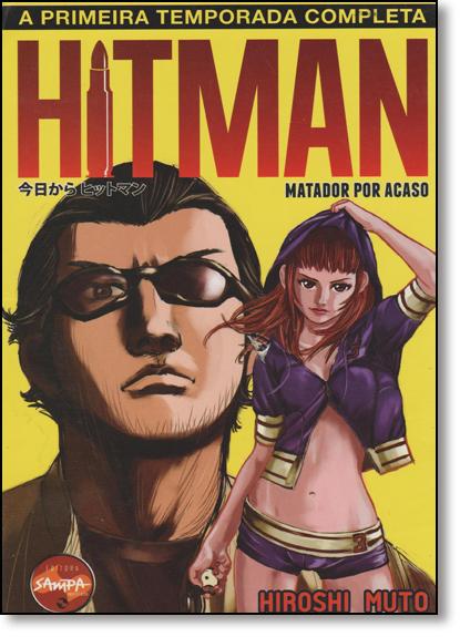 Box Hitman: Primeira Temporada - 3 Volumes, livro de Hiroshi Muto