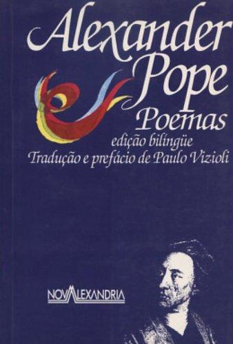 Alexander Pope. Poemas, livro de Alexander Pope