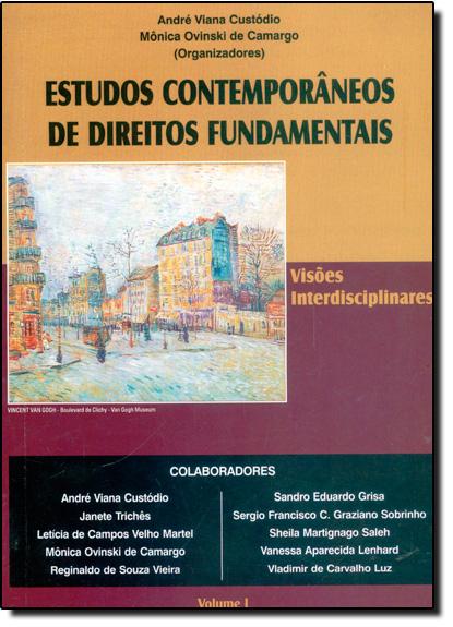 Estudos Contemporâneos de Direitos Fundamentais, livro de André Viana Custódio