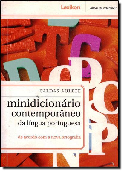 Minidicionário Caldas Aulete, livro de AULETE