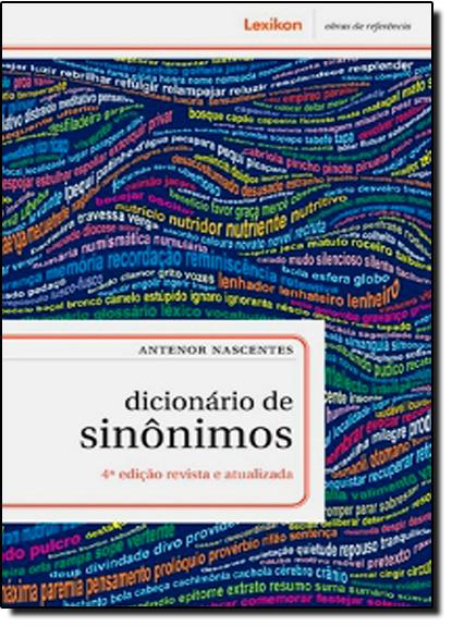 Dicionario de Sinonimos, livro de Antenor Nascentes