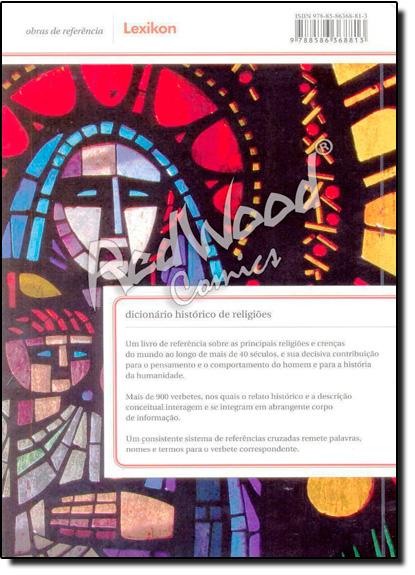 Dicionário Histórico de Religiões, livro de Antonio Carlos do Amaral Azevedo