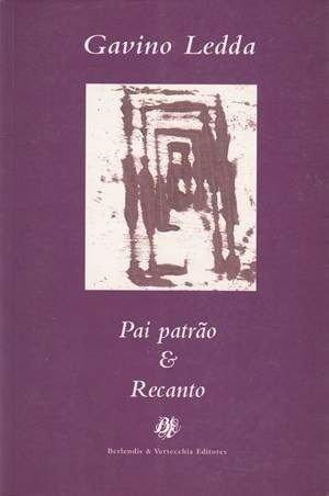 Pai Patrao & Recanto, livro de Gavino Ledda
