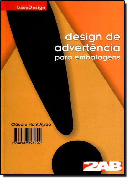 Design de Advertência Para Embalagens, livro de Cláudia Montalvão