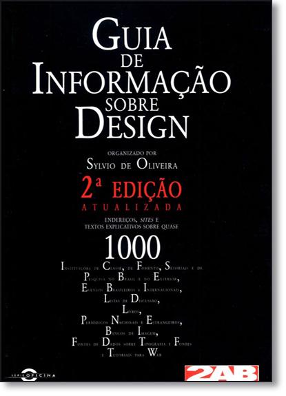 Guia de Informação Sobre Design, livro de Sylvio de Oliveira
