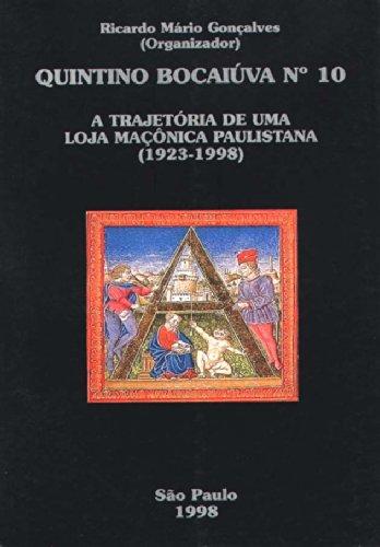 Trajetória de uma Loja Maçônica - Quintino Bocaiúva, livro de Ricardo Mário Gonçalves (organização)