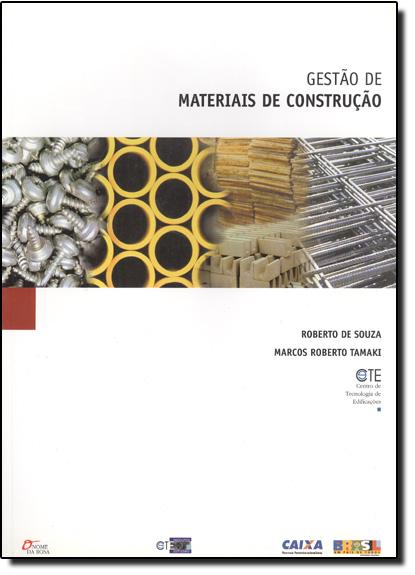 Gestão de Materiais de Construção, livro de Roberto de Souza
