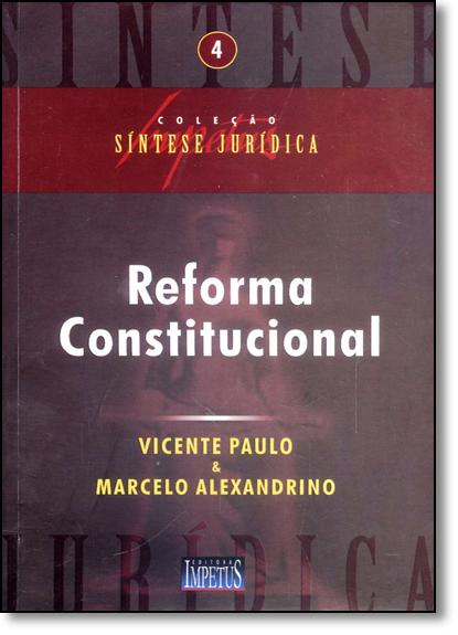 Reforma Constitucional, livro de Vicente Paulo