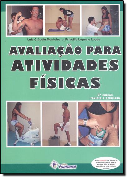 Avaliação Para Atividades Físicas, livro de Priscilla Lopes