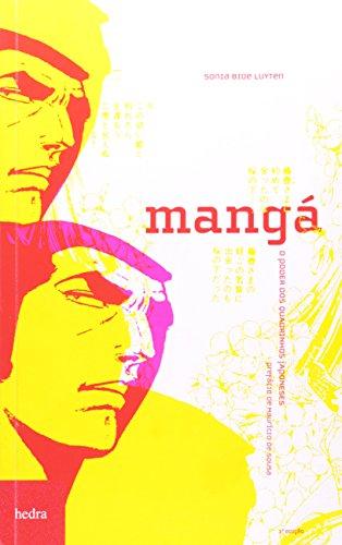 Mangá – o poder dos quadrinhos japoneses, livro de Sonia Bide Luyten