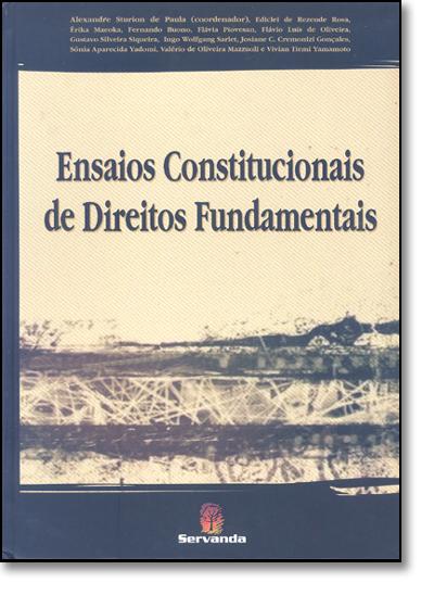 ENSAIOS CONSTITUCIONAIS DE DIREITOS FUNDAMENTAIS, livro de Luiz Alberto De Paula Rodrigues