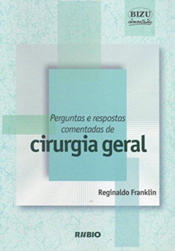 PERGUNTAS E RESPOSTAS COMENTADAS DE CIRURGIA GERAL, livro de FRANKLIN
