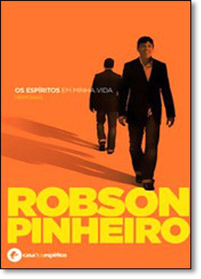 Espíritos em Minha Vida, Os - Capa Laranja, livro de Robson Pinheiro