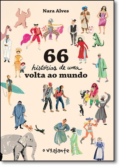 66 Histórias de Uma Volta ao Mundo, livro de Nara Alves