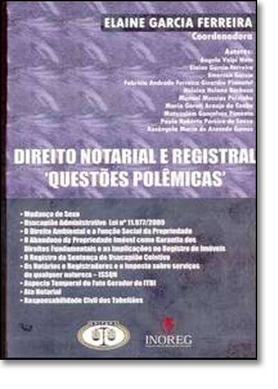 Direito Notarial e Registral, livro de Elaine Garcia Ferreira