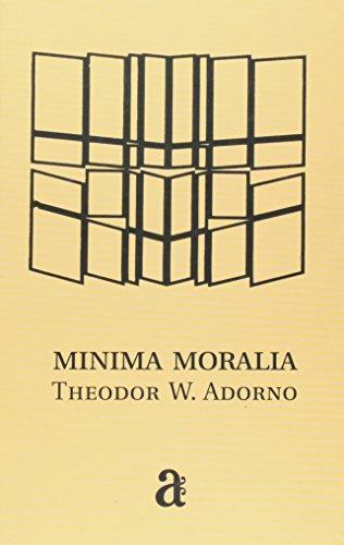 Minima Moralia, livro de Theodor W. Adorno