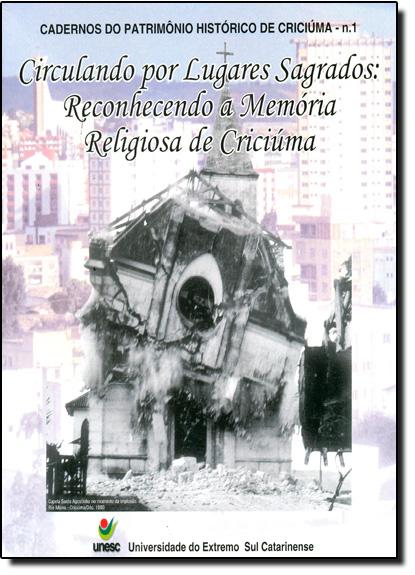 Circulando Por Lugares Sagrados, livro de Lucy Cristina Ostetto