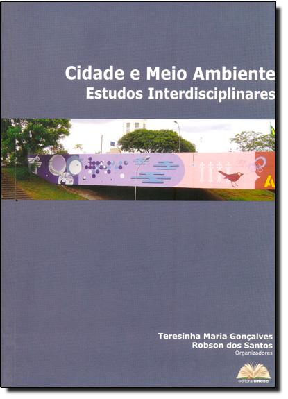Cidade e Meio Ambiente, livro de Robson dos Santos