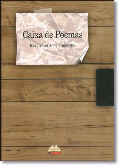 Caixa de Poemas, livro de Beatriz Kestering Tramontin